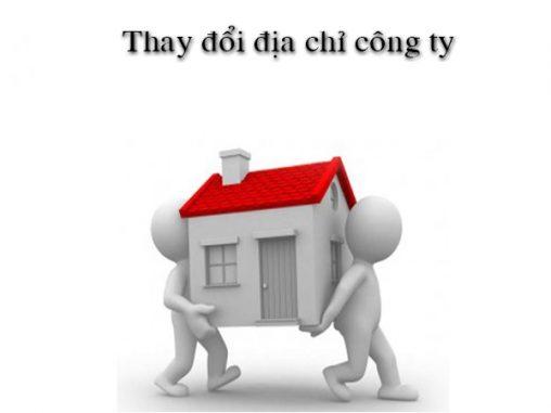 Thay đổi địa chỉ trụ sở công ty nhanh – tiết kiệm – chính xác